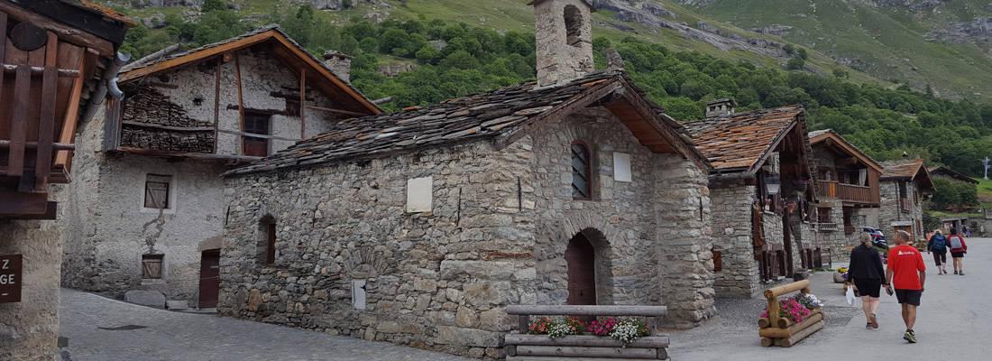 Vieux-village de Bonneval sur arc