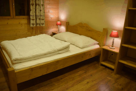 Chambre adulte appartementle Caribou