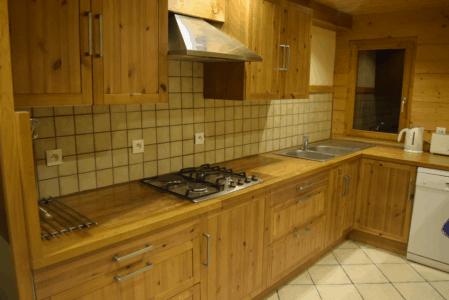Cuisine intégrée chalet bonneval sur Arc