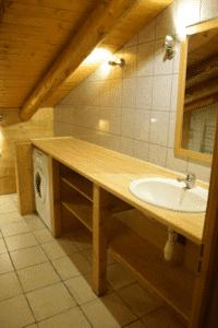 Grande salle de bains caribou 10 personnes